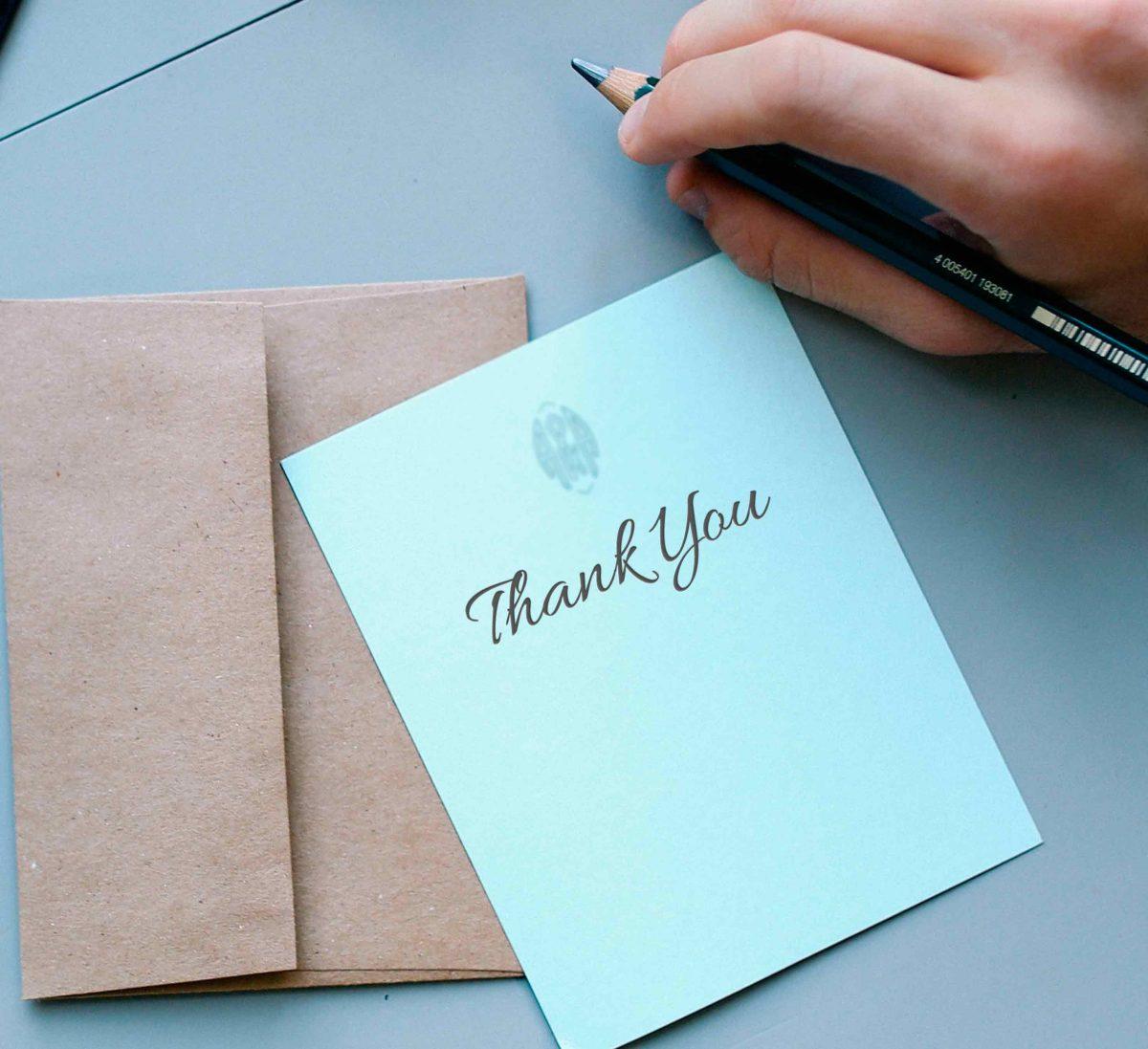 mostrar gratitud agradecimiento