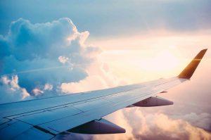 avión sin curso