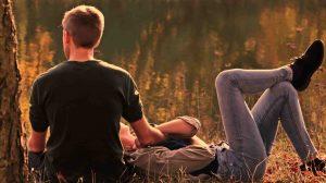 pareja disfrutando